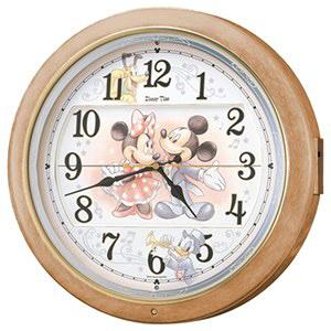 セイコー 電波からくり時計「ディズニータイム」 FW561A