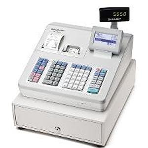 シャープ 電子レジスター(ブロック別キーボードタイプ) XE-A407-W (ホワイト)