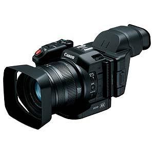 Canon Cfast/SD対応4Kビデオカメラ XC10