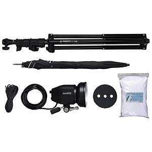 フォアベルク MONO400Eパラソル1灯セット MONO400Eパラソル1トウセット(送料無料)