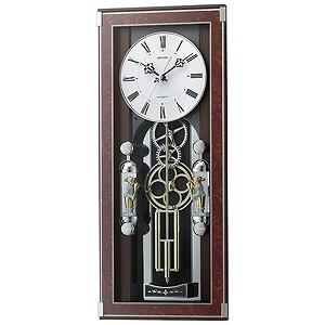リズム時計工業 電波からくり時計「ソフィアーレプリモ」 4MN535SR23