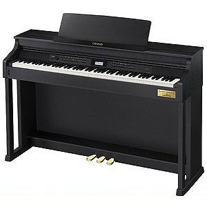 CASIO 電子ピアノ AP‐700BK (ブラックウッド調)(標準設置無料)