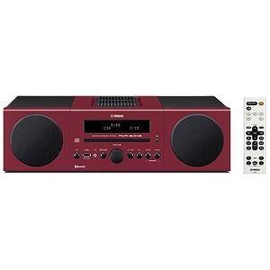 YAMAHA 「ワイドFM対応」Bluetooth対応 ミニコンポ MCR‐B043R (レッド)(送料無料)