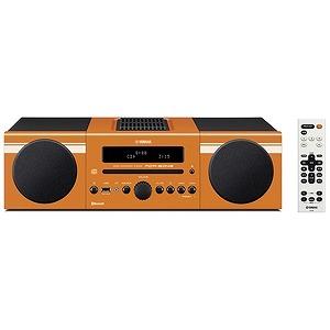 YAMAHA 「ワイドFM対応」Bluetooth対応 ミニコンポ MCR‐B043D (オレンジ)(送料無料)