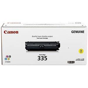 Canon 「純正」トナーカートリッジ335(イエロー) CRG‐335YEL(送料無料)