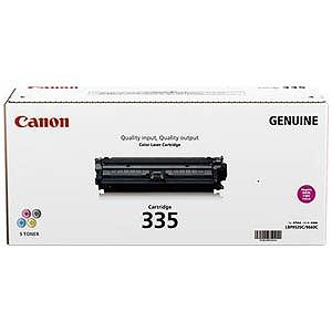 Canon 「純正」トナーカートリッジ335(マゼンタ) CRG‐335MAG