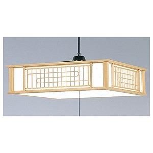 日立 LED和風ペンダントライト「高級和風木枠シリーズ」(~8畳)昼光色 LEP‐CA805EJ