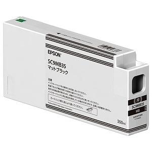 EPSON 「純正」インクカートリッジ(マットブラック・350ml) SC9MB35(送料無料)