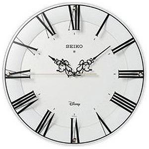 セイコー 電波掛け時計「ミッキー&ミニー」 FS506W