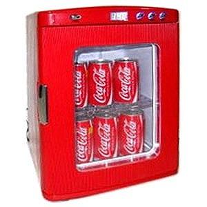 SIS ディスプレイ型ポータブル保冷温庫(25L) XHC‐25‐RD (赤)(送料無料)