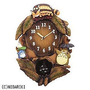 リズム時計工業 掛け時計「となりのトトロ」 4MJ837MN06