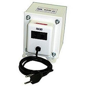 日章工業 変圧器「トランスフォーマ SKシリーズ」(240V⇔100V・容量550W) SK‐550EX