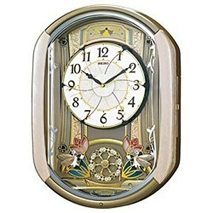 セイコー 電波からくり時計「ウェーブシンフォニー」 RE567G