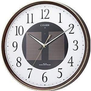シチズン ソーラー電波掛け時計「エコライフ」 4MY807‐023