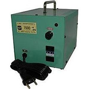 日章工業 変圧器「トランスフォーマ NDF-EXシリーズ」(240V・1500W) NDF‐1500EX