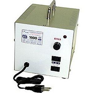日章工業 変圧器「トランスフォーマ SKシリーズ」(240V⇔100V・容量1600W) SK‐1600EX