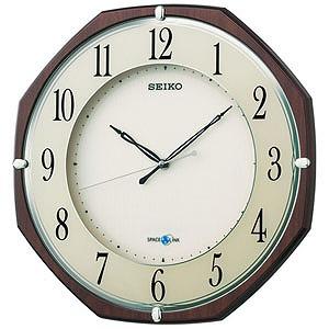 セイコー 衛星電波掛け時計「スペースリンク」 GP207B