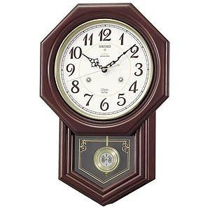 セイコー 電波からくり時計「チャイム&ストライク」 RQ205B(送料無料)