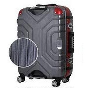シフレ TSAロック搭載スーツケース(83L) B5225T‐67 (ヘアラインブラック/レッド)