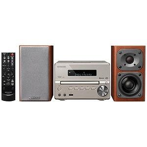 ケンウッド コンパクトHi-Fiシステム(ゴールド)「ワイドFM対応」 XK‐330‐N