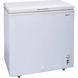 アビテラックス 直冷式チェスト冷凍庫(102L・上開き) ACF‐102C (ホワイト)(標準設置無料)