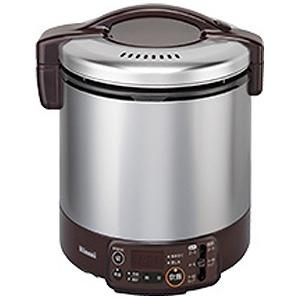 リンナイ 「都市ガス13A用」ガス炊飯器「こがまる VMTシリーズ」(1升) RR‐100VMT‐DB (ダークブラウン)