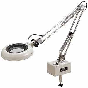 ピルボックス LED照明拡大鏡 ENVLシリーズF型(2倍率) ENVLF2X