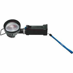 嵯峨電機 6WLED高光度コードレスライトセット高演色充電器付き LBLED6WFLRA