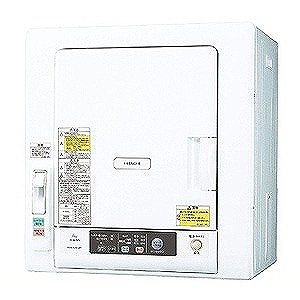 日立 衣類乾燥機(乾燥5.0kg) DE‐N50WV‐W (ピュアホワイト)(標準設置無料)