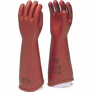 電気用ゴム手袋NU型大 540L(送料無料)