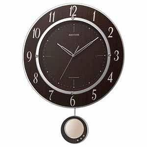 リズム時計工業 電波掛け時計「トライメテオDX」 8MX403SR23
