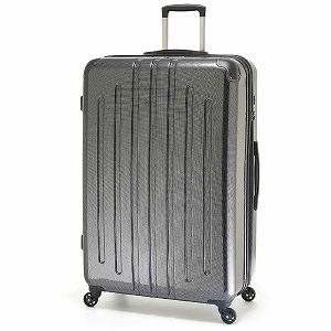 A.L.I TSAロック搭載スーツケース(116L) ADY‐5029 (カーボンブラック)