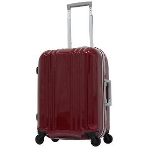 TSAロック搭載スーツケース デカかる2(34L) MM-5188 (クリスタルレッド)(送料無料)