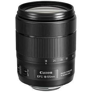 Canon EFマウント EF‐S18‐135mm F3.5‐5.6 IS USM