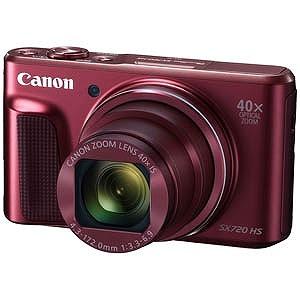 Canon コンパクトデジタルカメラ PowerShot(パワーショット) SX720 HS (レッド)
