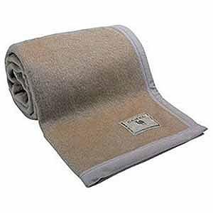 生毛工房(うもうこうぼう) キャメル毛布(シングルサイズ) キャメルモウフ1‐97(140