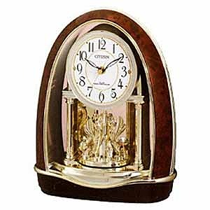 リズム時計工業 電波置き時計「パルドリーム」 4RN414‐023