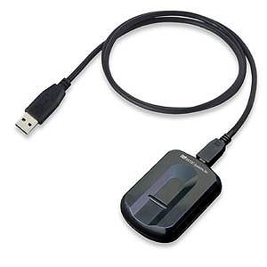 ラトック USB指紋認証システムセット・スワイプ式 SREX‐FSU3