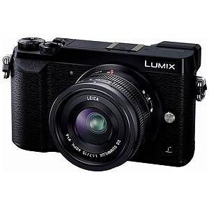 パナソニック ミラーレス一眼カメラ LUMIX GX7 Mark II「単焦点ライカDGレンズキット」 DMC‐GX7MK2L‐K (ブラック)(送料無料)