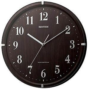 リズム時計工業 電波掛け時計「ライブリーアリス」 8MY501SR06