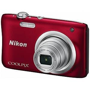 ニコン コンパクトデジタルカメラ COOLPIX(クールピクス) A100 (レッド))