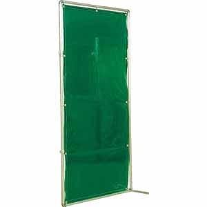 吉野 遮光フェンスアルミパイプ 2×2 接続キャスター グリーン YS22JCG