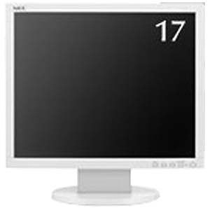 NEC 17型 LEDバックライト搭載液晶モニター (ホワイト) LCD‐AS172M‐W5