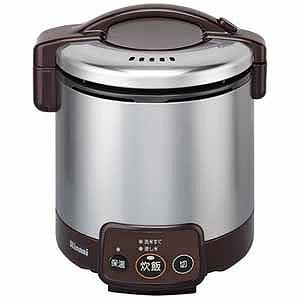 リンナイ 「プロパンガス用」ガス炊飯器「こがまる VMシリーズ」(5合) RR‐050VM‐DB (LP (ダークブラウン)