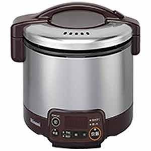 リンナイ 「都市ガス13A用」ガス炊飯器「こがまる VMTシリーズ」(3合) RR‐030VMT‐DB (ダークブラウン)(送料無料)