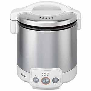 リンナイ 「都市ガス12A・13A用」ガス炊飯器「こがまる VMシリーズ」(5合) RR‐050VM‐W (13A (グレイッシュホワイト)(送料無料)