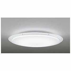 オーデリック リモコン付LEDシーリングライト(~8畳)調光・調色(昼光色~電球色) OL251442(送料無料)