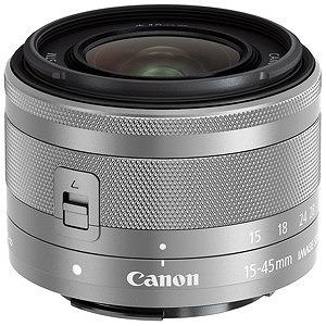 Canon 交換レンズ EF-M15-45mm F3.5-6.3 IS  STM「キヤノンEF‐Mマウント」(シルバー)(送料無料)