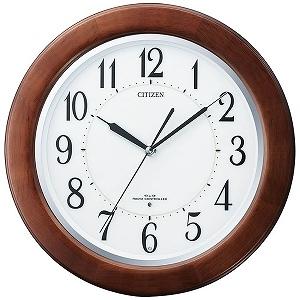 リズム時計工業 電波掛け時計 「リバライトF461」 8MY461SR06