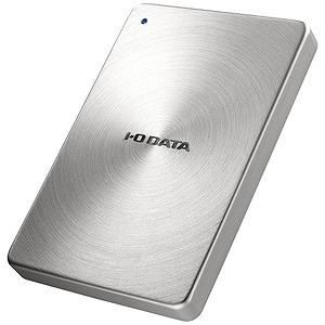 I・O・DATA ポータブルHDD 1TB HDPX-UTCシリーズ シルバー HDPX‐UTC1S